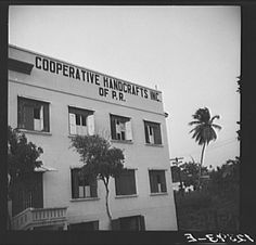 Title: The home of the P.R.R.A (Puerto Rico Resettlement Administration) needlework cooperative. San Juan, Puerto Rico Creator(s): Rosskam, Edwin, 1903-, photographer Date Created/Published: 1938 Jan.