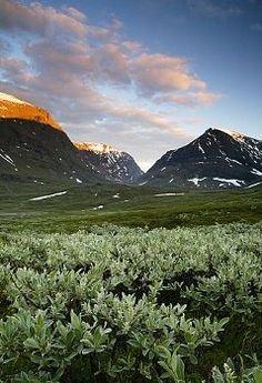 Kebnekaise Sydtoppen the highest mountain in Sweden. Places Around The World, Around The Worlds, Walk Out The Door, Lappland, Outside World, Nice Things, Norway, Scandinavian, Cities