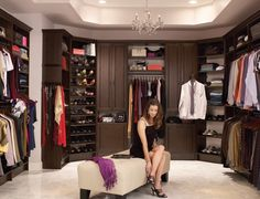 We have partnered with ClosetMaid to provide custom closet design, installation, and organization help for any room in your home in Barrie, Ontario. Custom Walk In Closets, Walk In Closet Design, Closet Designs, Small Closets, Dream Closets, Walking Closet, Armoire, Clever Closet, Luxury Closet