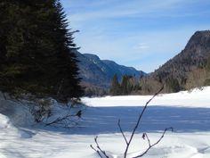 Le Parc de la Jacques-Cartier  est autant magnifique en été qu'en hiver. (Québec)