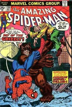 The cover to Amazing Spider-Man #139 (1974), art by Gil Kane & John Romita