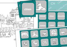 Cherche et trouve - ch - En partage au format du logiciel sur le groupe Face Book : Partage de matériel Artiskit : Orthophonie http://www.facebook.com/groups/128326657315777/