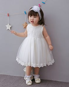 Baby girl clothing newborn birthday party dress baptism set baby christening formal dress bebe lace wedding dress