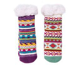 dc279138d00 Muk Luks Kid s 2-Pack Cabin Socks