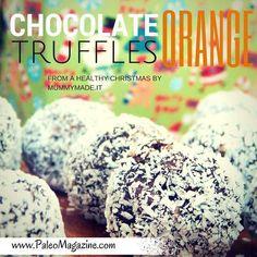 paleo chocolate orange truffles recipe from lisa at mummymade.it