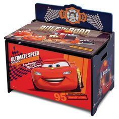 Delta Children Cars Deluxe Toy Box : Target