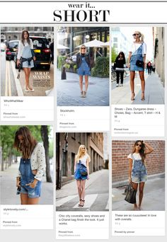 overall-short jeans