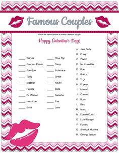 valentine's day transfer sheets