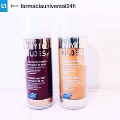 Ενίσχυσε το χρώμα των μαλλιών σου και χάρισε διάρκεια στη βαφή με τις φυτικές χρωμομάσκες PHYTOGLOSS της PHYTO Paris!  > TIP: Χρησιμοποίησέ την ανάμεσα στις δύο βαφές. Shampoo, Personal Care, Bottle, Beauty, Colors, Personal Hygiene, Flask, Jars