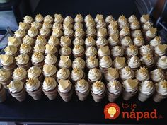 Ak máte doma balík oblátok, toto skúste: 11 receptov na bezkonkurenčné veľkonočné dobroty, ktoré rýchlo pripravíte! Cupcake Cones, Mini Cupcakes, Ice Cream, Minis, Desserts, Cake Ideas, Food, Weddings, Lemon