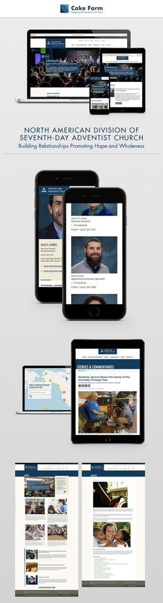 The official site of the North American Division of the Seventh-day Adventist Church Map Design, Pattern Design, Seventh Day Adventist, Seven Days, Seo Strategy, Drupal, Ui Ux, Training, American