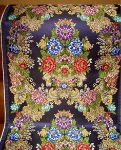 Silk Brocade, Linen Curtains, Check Printing, Fabrics, Sketches, Textiles, Homemade, Quilts, My Style