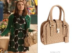 Hart of Dixie 2x12 | Islands in the Stream | Annabeth Nass  Ivanka Trump 'Elle' satchel - $175  Worn with: Kate spade dress  Also worn: on Hart of Dixie 2x7