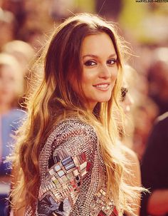 Missing Leighton Meester as Blair Waldorf in Gossip Girl which I also missed watching since it ended a year ago..
