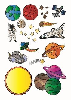 Solar System Outer Space Science Clip Art Download