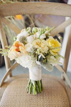 Love all the lushes colors in this fall inspired bridal bouquet.  Flowers and Decor by Seascape Flowers. Photography by  Evynn Levalley Photography. Linens by La Tavola Linens. Venue at Seascape Beach Resort.
