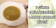 7 günde 5 kilo verdiren lahana diyet çorbası ile siz de zayıflayabilirsiniz. Hem tok tutucu özelliği, hem de zayıflamaya yardımcı olmasıyla herkesin severek t
