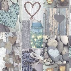 Rustic Heart Wallpaper Rolls Natural Arthouse 669600 | eBay