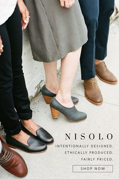 Complete your fall outfits with shoes, leather goods, and jewelry from Nisolo. Click to shop now.