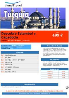 Descubre Estambul y Capadocia desde 499 € ultimo minuto - http://zocotours.com/descubre-estambul-y-capadocia-desde-499-e-ultimo-minuto/