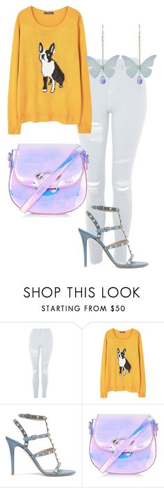 """""""Untitled #35"""" by iulianaenache526 on Polyvore featuring Topshop, MANGO, Valentino and RHIÉ"""