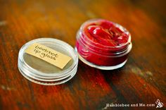 beet root lip gloss... I have experimented with beet root powder for lip balm before, and was never satisfied with the color. It came out too light... so i started to you use Alknet root. The color comes out great, but Alknet root has a funny smell!  Sooo I will try this and play around with it!