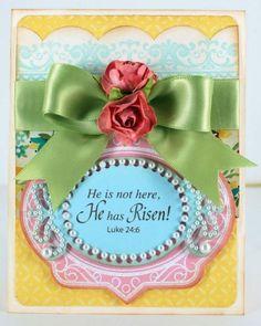 Homemade Vintage Easter Cards