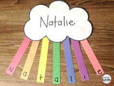 Name Activities Preschool, Kindergarten Names, School Age Activities, Kindergarten Projects, Kindergarten Art Projects, Kindergarten Activities, Listening Activities, Preschool Class, Preschool Learning