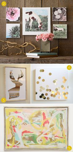 10 DIY Wall decor ideas