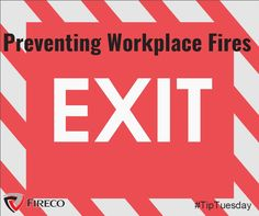 Familiarise employees with emergency exit diagrams. Emergency exits should be well lit with regulation lights. Safety Rules, Workplace, Lights, Tips, Lighting, Rope Lighting, Candles, Lanterns, Lamps