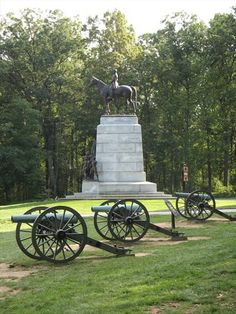 Gettysburg, Pennsylvania - Battlefield Monument. I was truly amazed at how hauntingly beautiful and moving this site is. Unfortunately the kids were too little to remember our two visits. We'll have to get back someday.