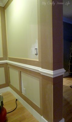adding extra trim to walls for intersted