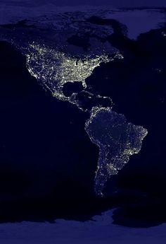 The world at night