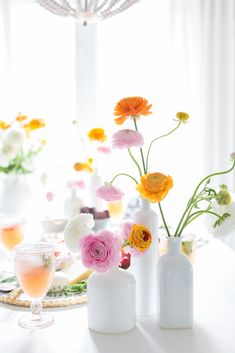 The weather here was gorgeous and Birthday Decorations, Table Decorations, Happy New Week, Weekend Fun, Spring Day, Flower Centerpieces, My Flower, Floral Arrangements, Brunch