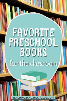 Wanting to add more books to your classroom library? Check out these favorite preschool books!#preschool #teachers #books #library #reading #literacy #alphabet #words #classroom #age3 #age4 #teaching2and3yearolds Preschool Books, Preschool At Home, Preschool Teachers, Toddler Preschool, 3 Year Old Activities, Literacy Activities, Dear Zoo, Importance Of Reading, Time Planner