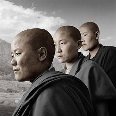 Phil Borges Suas fotos de refugiados tibetanos são únicas.