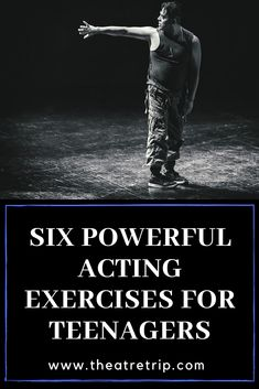 It's always a good idea to keep a few acting exercises in your back pocket. And to get you started, here are six powerful acting exercises for teenagers. Acting Lessons, Acting Class, Acting Skills, Acting Tips, Theatre Games, Teaching Theatre, Drama School, Drama Class, Drama Activities