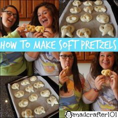Super easy and delicious soft pretzel recipe!!