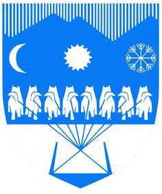 Ilulissat, Municipality Center of Qaasuitsup, Greenland #Ilulissat #Qaasuitsup #Greenland #Groenlandia (L19818)