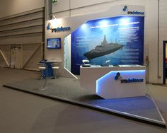 STS Defense Exhibition Stand at DSEI 2015