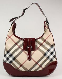 Burberry red bag