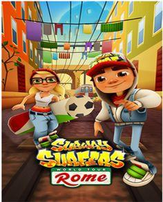 Subway surfers arriva a in Italia a Roma app di gioco azione