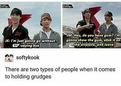 I'm Jungkook tho I would probably still say Bye