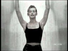 Calvin Klein Escap perfume ad (1995) Starring Milla Jovovich, directed by Jean Baptiste Mondino