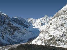 Le glacier de la Neuve ,La Fouly.  Great