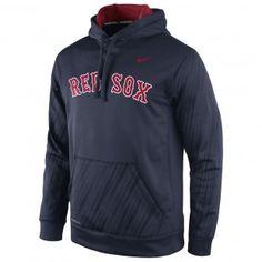 Boston Red Sox Nike MLB Speed Ko Hoodie 1.5 (Navy)