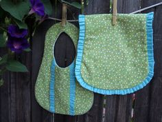 Just Another Hang Up: Ruffled Burp Cloth Pattern & Tutorial