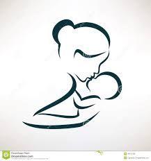 Risultati immagini per madre e figli disegni