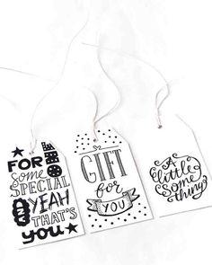 Gifttags, labels: Handwritten by Paperfuel, het PapierAtelier @ ShowUP. Seen on HappyMakersBlog.com. Photo: BloomInspiration
