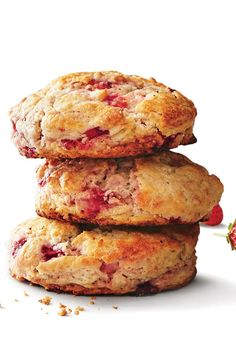 May 2016 Recipes: Strawberry Biscuits
